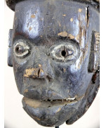 Masque Ogoni à mâchoire articulée