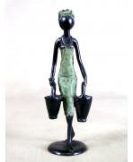 Statuette bronze de Ouagadougou