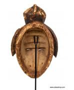 Socle tout métal pour masque, 32 cm