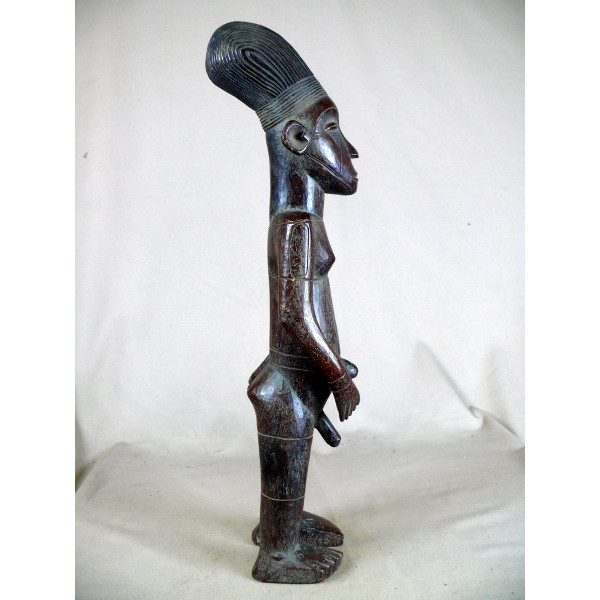 statue africaine 1 metre