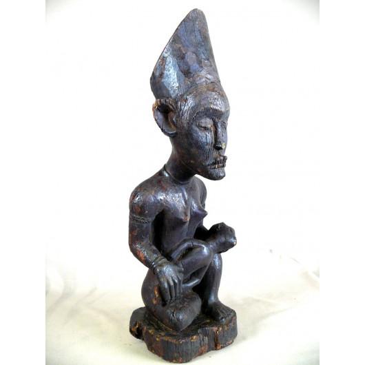 Statuette de maternité Kongo de RDC