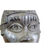 Tête bronze du royaume d'Ifé