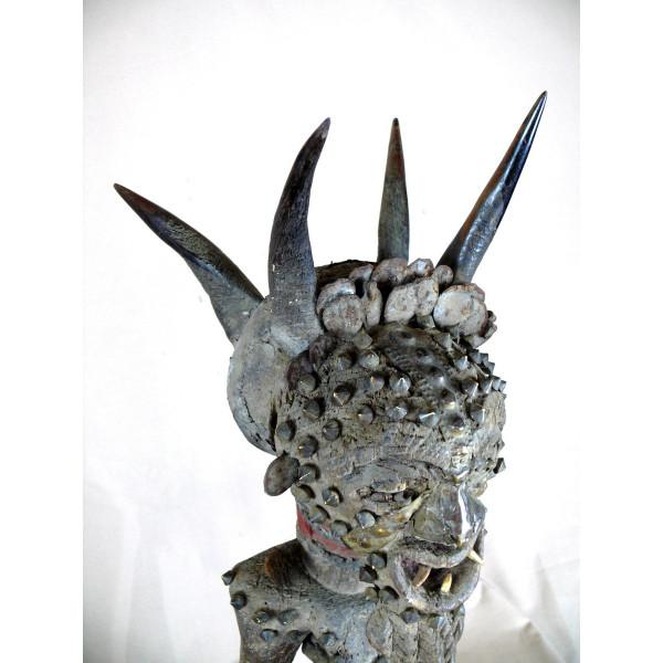 juste prix matériaux de haute qualité marque populaire Statue fétiche Songyé de RDC - Calaoshop, statues africaines ...