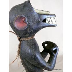 Statue de singe Baoulé