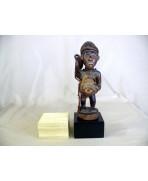 Socle en chêne pour statuette - 10x10x6