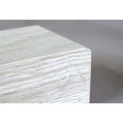 Socle en chêne pour statuette - 10x10