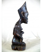 Statuette de maternité Yombé de RDC