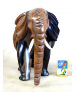 Eléphant en ébène royal