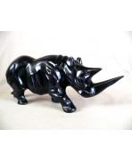 Rhinocéros en ebene