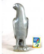 Perroquet en ébène gris