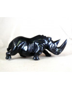Rhinocéros en ébène
