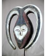 Masque Kwele du Gabon