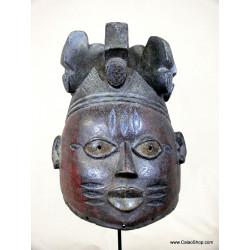 Casque Gélédé Yoruba
