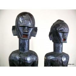 Couple de statues Montol