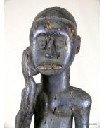 Statue Fang malade