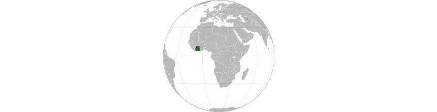 Objets africains de Côte d'Ivoire