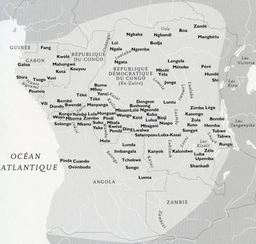 carte RD du Congo