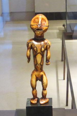 statuette Lega ivoire musee quai branly