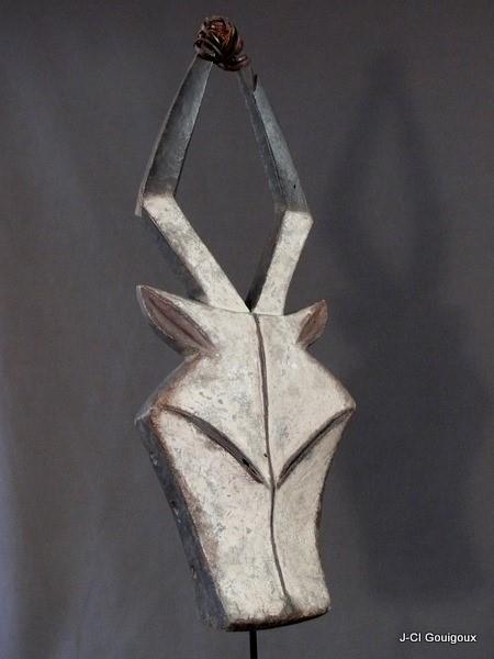 Masque Kwele antilope