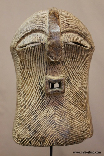 Masque Songye Kifwebe feminin